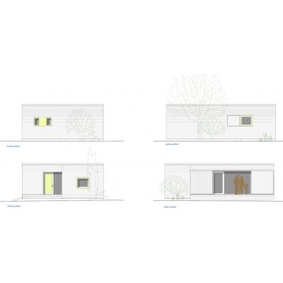 Maison modulaire de 1 chambres