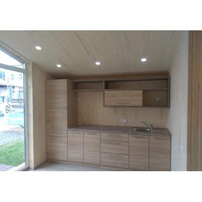 Maison modulaire de 2-pièces