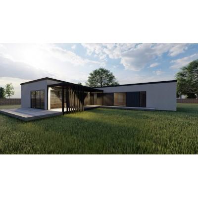 Maison modulaire de 5-pièces