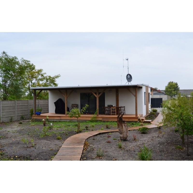 Maison modulaire de 3-pièces